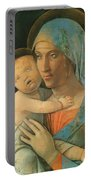 Virgin And Child 1495 Portable Battery Charger
