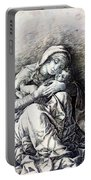 Virgin And Child Madonna Of Humility 1490 Portable Battery Charger