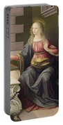 Virgin Mary, From The Annunciation Portable Battery Charger
