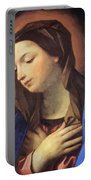 Virgin Of The Annunciation Portable Battery Charger