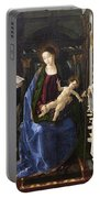 Virgin Of The Knight Of Montesa  Portable Battery Charger