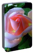Virgin Pink Rose With Thorns Portable Battery Charger