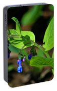 Virginia Bluebells Portable Battery Charger