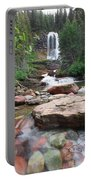 Virginia Falls - Glacier N.p. Portable Battery Charger