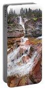 Virginia Falls - Glacier National Park Portable Battery Charger