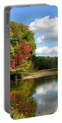 Virginia Kendall Park Portable Battery Charger by Kristin Elmquist