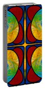 Visions Of Bliss And Abstract Artwork By Omaste Witkowski Portable Battery Charger