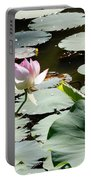 Visit To Lilly Pond Portable Battery Charger