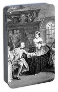 Visit To The Quack Doctor, 1745 Portable Battery Charger