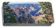 Visitors Dwarfed By Grand Canyon Vista Portable Battery Charger