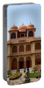 Visitors Wander Around Gardens Of Mohatta Palace Museum Karachi Sindh Pakistan Portable Battery Charger