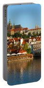 Vitus Cathedral Over Vltava  Portable Battery Charger
