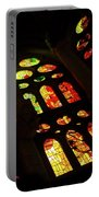 Vivacious Stained Glass Windows Portable Battery Charger