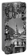 Vive Les French Quarter Monochrome Portable Battery Charger