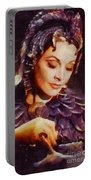 Vivien Leigh, Vintage Hollywood Actress Portable Battery Charger