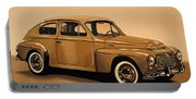 Volvo Pv 544 1958 Painting Portable Battery Charger