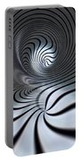 Vortex In Metal  Portable Battery Charger