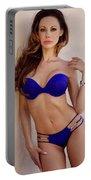 Voula Blue Bikini Portable Battery Charger