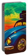Classic Surf Rod Portable Battery Charger