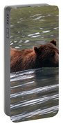 Wading Brown Bear Portable Battery Charger