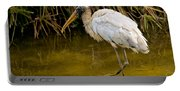 Wading Wood Stork Portable Battery Charger