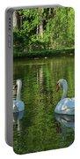 Wagner Vinyard Estate Swans Finger Lakes Lodi Ny Portable Battery Charger