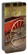 Wagon - That Old Red Wagon  Portable Battery Charger