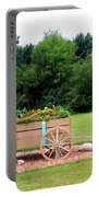 Wagon With Flowers Portable Battery Charger
