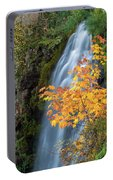 Wah Gwin Gwin Falls In Autumn Portable Battery Charger