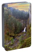 Wahclella Falls In Columbia River Gorge Portable Battery Charger