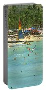 Waikiki Beach Portable Battery Charger