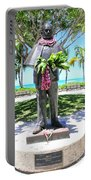 Waikiki Statue - Prince Kuhio Portable Battery Charger