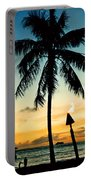 Waikiki Sunset Portable Battery Charger