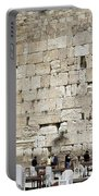 Wailing Wall In Jerusalem Portable Battery Charger