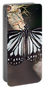 Waiting --- Rice Paper Butterfly Portable Battery Charger
