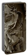 Waiting For Alexander - Heroes And Gods - Brown  Portable Battery Charger