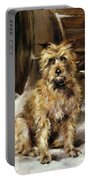 Waiting For Master   Portable Battery Charger by Jane Bennett Constable
