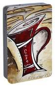 Wake Up Call Original Painting Madart Portable Battery Charger