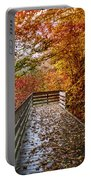 Walk Into Autumn Portable Battery Charger