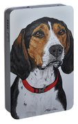 Walker Coonhound - Cooper Portable Battery Charger by Megan Cohen