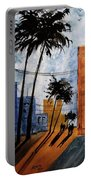 Walking Home, Watercolor Portable Battery Charger