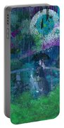 Walking In The Rain Portable Battery Charger