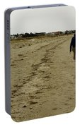 Walking The Beach Portable Battery Charger