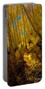 Walking With Autumn Portable Battery Charger