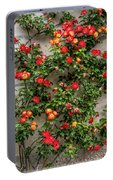 Wall Of Roses Portable Battery Charger