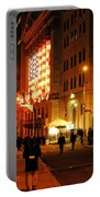 Wall Street Evening Portable Battery Charger