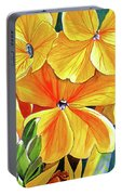 Wallflower Portable Battery Charger