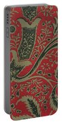 Wallpaper Sample With Bamboo Pattern By William Morris Portable Battery Charger