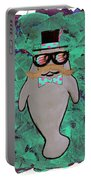 Walrus Brimley - Confused Manatee? Portable Battery Charger