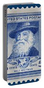 Walt Whitman Postage Stamp Portable Battery Charger